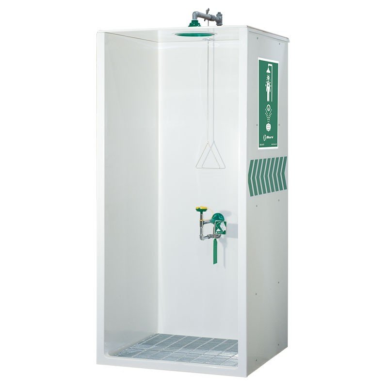 AXION� MSR Booth Enclosed Shower and Eye/Face Wash Model: EU-8605WC