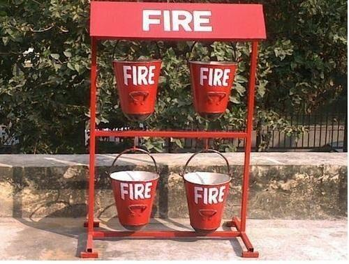 Fire Stand with Bucket