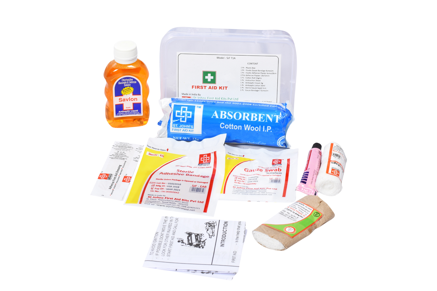 Travel First Aid Kit Minimax