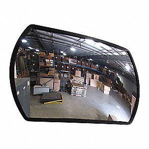 Rectangular Convex Mirror