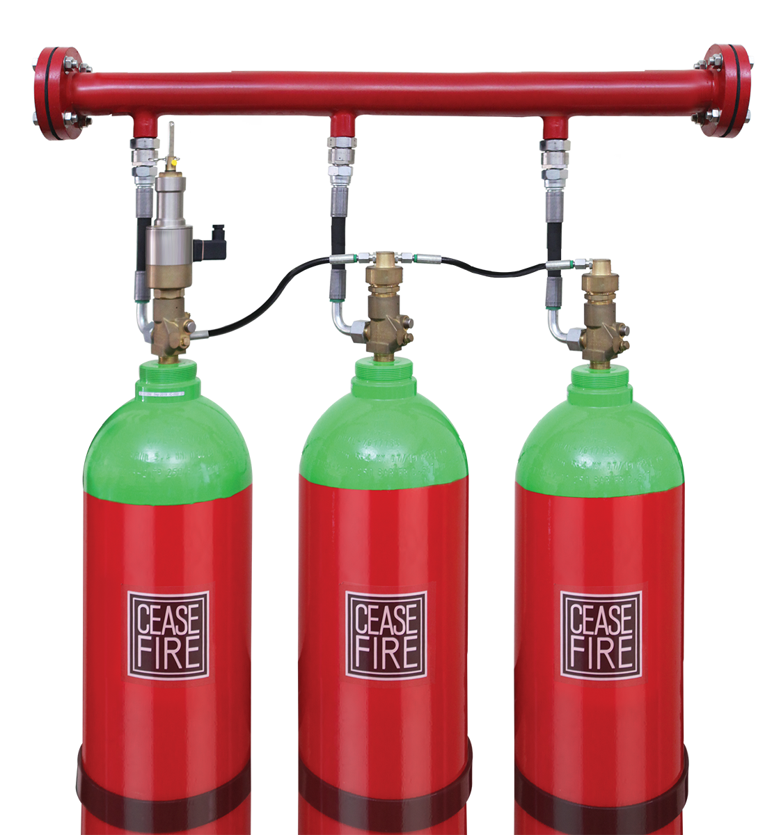 Inert Gas & CO2 Based Fire Suppression Systems