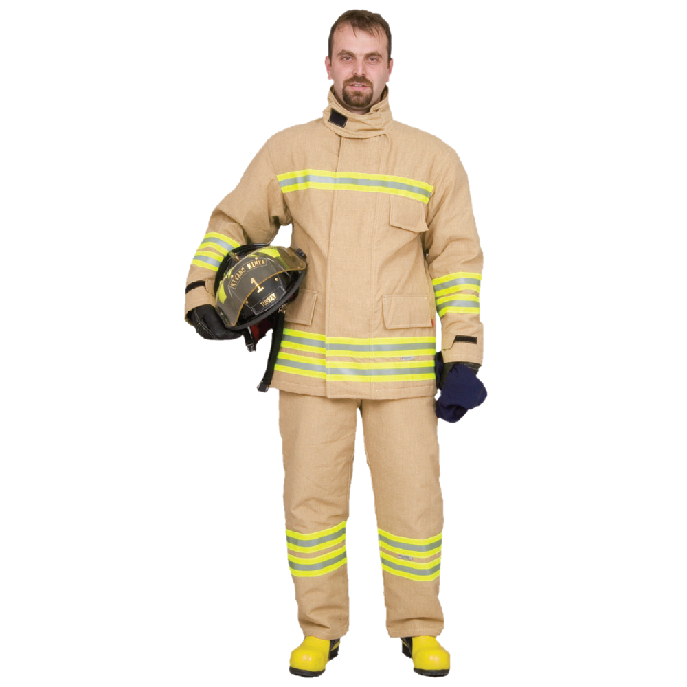 CeaseFire Fire Proximity Suit - Goldstar