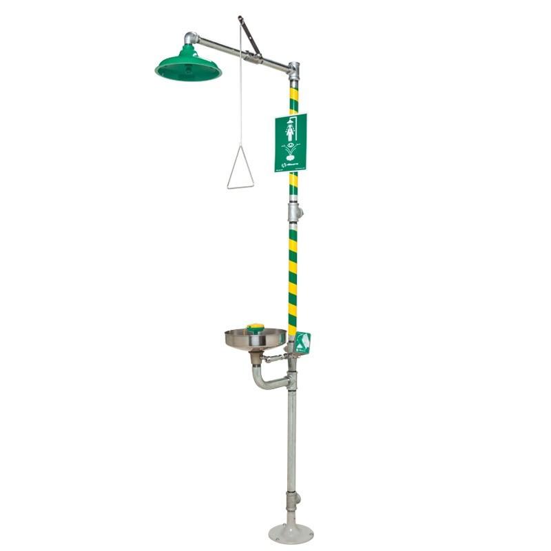 AXION� MSR Emergency Shower and Eye/Face Wash Model: EU-8300-8309