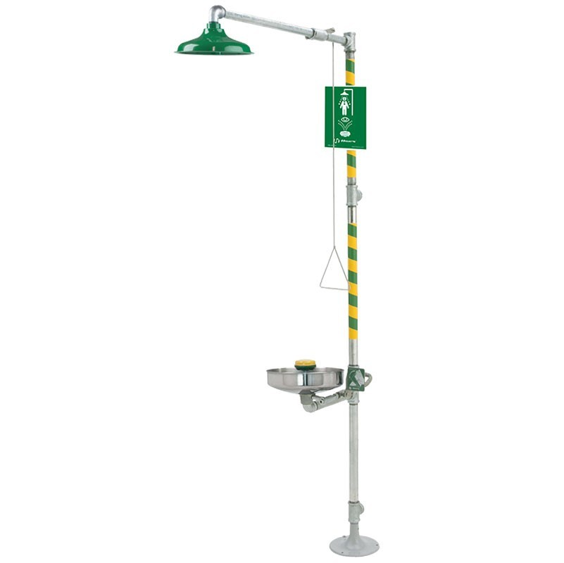 AXION� MSR Combination Shower and Eye/Face Wash Model: EU-8309WC